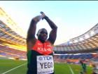 Campeão olímpico queniano aprendeu a lançar dardos na internet