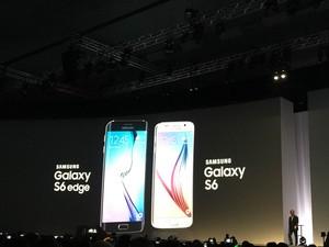 Samsung lança os smartphones Galaxy S6 e Galaxy S6 Edge. (Foto: Helton Gomes/G1)