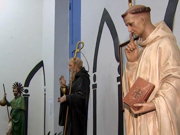 Museu de São José do Rio Pardo celebra 26 anos com exposição sacra (Foto: Reprodução/EPTV)
