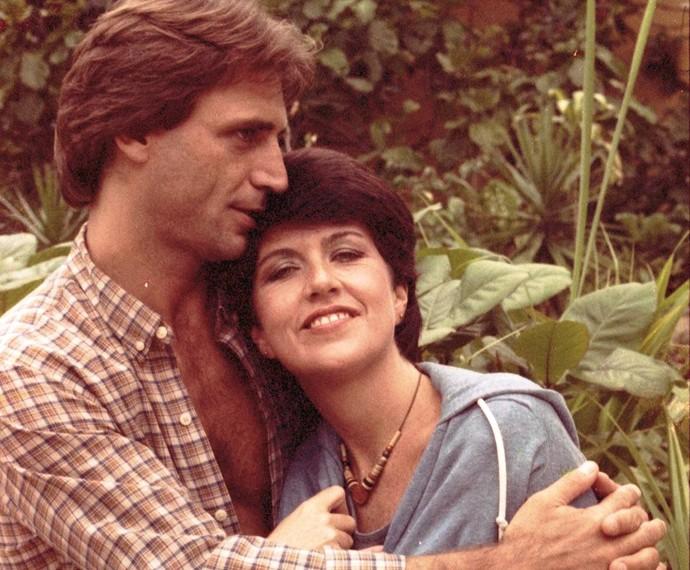 Em Guerra dos Sexos, de 1983, Ada Chaseliov interpretava Carolina (Foto: Cedoc / TV Globo)