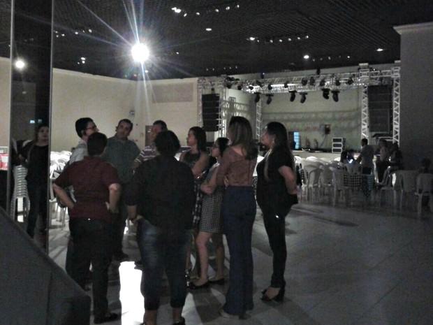 Show de Maria Rita, em Cuiabá, foi cancelado após cantora receber ameaças (Foto: André Souza/G1)