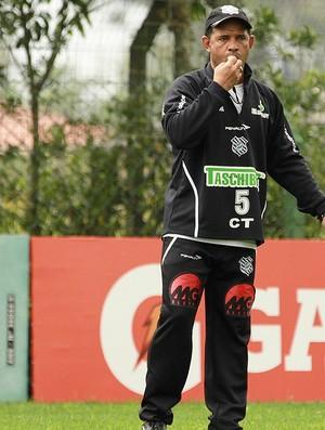 Marcio Goiano no treino do Figueirense (Foto: Luiz Henrique / Site Oficial do Figueirense)