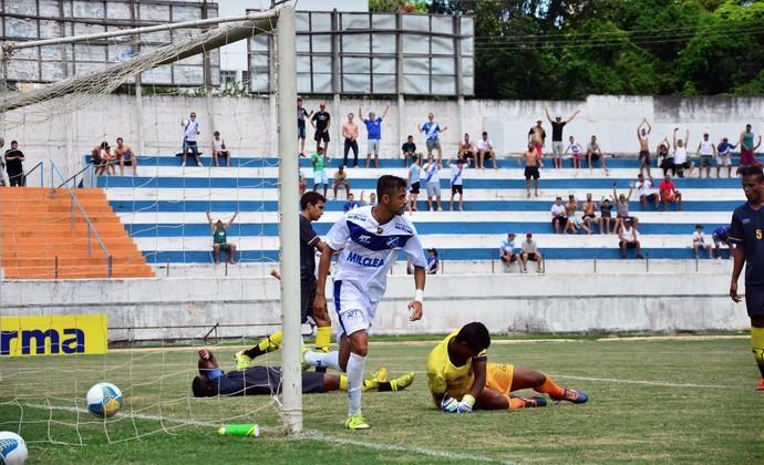 Taubaté x Desportiva Aliança Copa SP (Foto: Bruno Castilho/EC Taubaté)