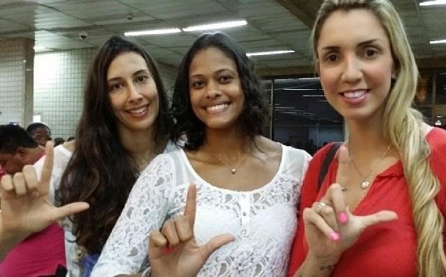 Sheilla, Adenízia e Thaísa apoiam campanha de ajuda a Lais Souza  (Foto: Reprodução Instagram)