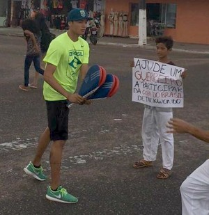 Venilton Teixeira; Amapá (Foto: Bruno Igreja/Arquivo Pessoal)