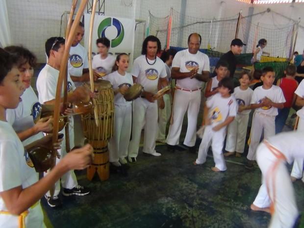Capoeira foi uma das atrações do evento (Foto: Divulgação/RPC TV)