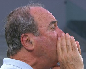 Levir Culpi técnico do Atlético-MG (Foto: Reprodução/ TV Globo Minas)
