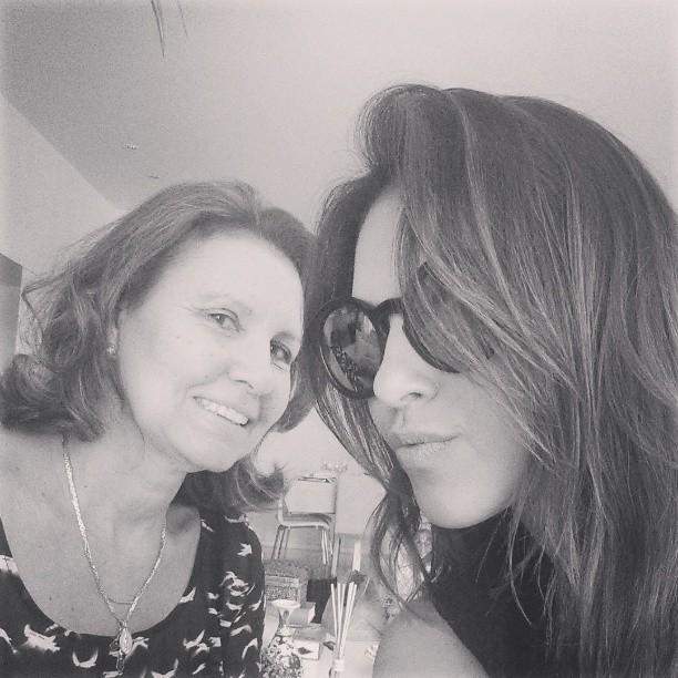 Mariana Rios e a madrinha (Foto: Instagram / Reprodução)
