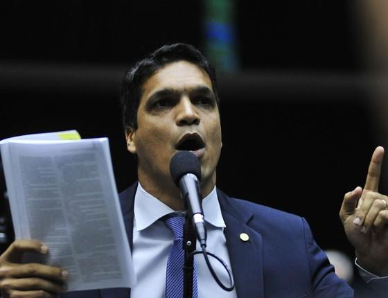 O deputado Cabo Daciolo (Foto: Zeca Ribeiro / Câmara dos Deputados)
