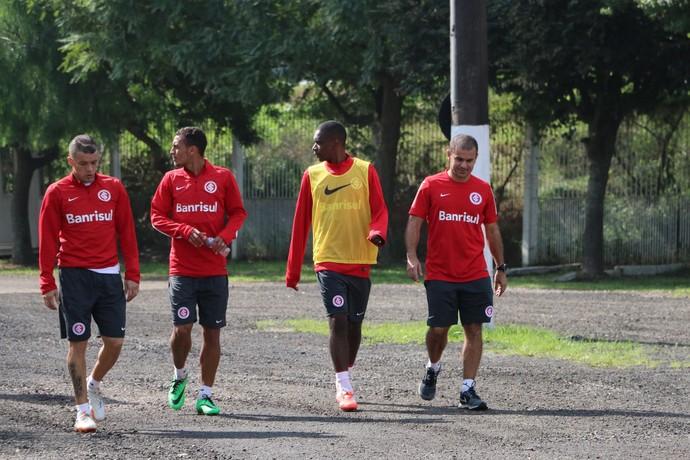 inter dalessandro alan patrick treino (Foto: Eduardo Deconto/GloboEsporte.com)