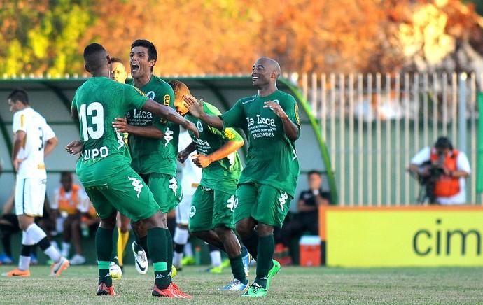 Jeferson gol Boavista contra Botafogo (Foto: Bruno Turano / Agência Estado)
