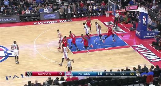 Raptors 103 x 89 Pistons