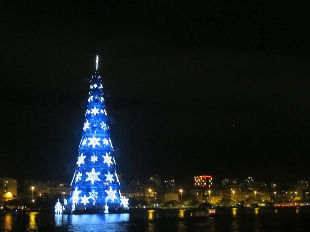 Árvora da Lagoa será inaugurada neste sábado (1º)  (Foto: Foto: Lívia Torres/ G1)