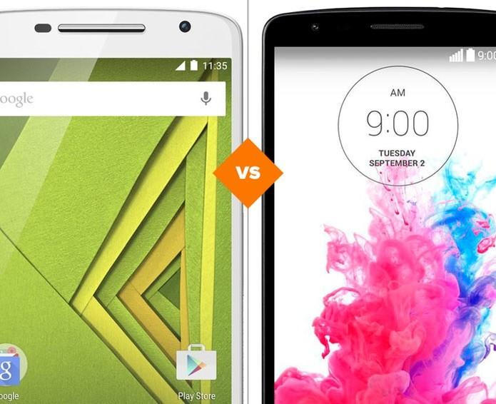 Moto X Play ou LG G3  (Foto: Arte/TechTudo)