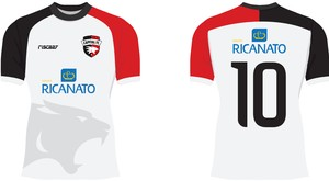Uniforme número 2 do Capital FC (Foto: divulgação/ Capital FC)