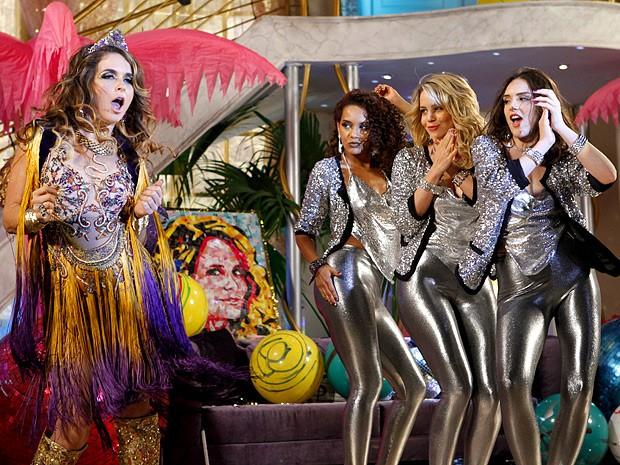 Chayene e Empreguetes juntas? Esse reality vai pegar fogo (Foto: Cheias de Charme / TV Globo)