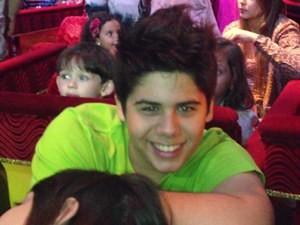José Felipe, filho do cantor Leonardo (Foto: Gabriela Lima/G1)