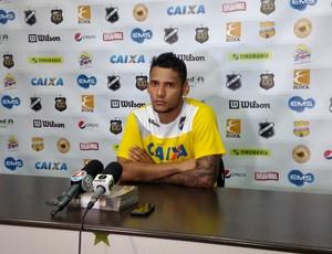Wellington Bruno - meia do ABC (Foto: Alexandre Filho/GloboEsporte.com)