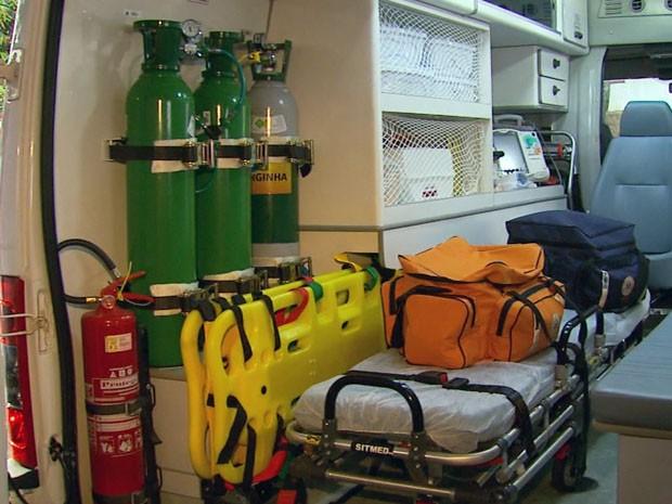 Samu Regional vai contar com 43 ambulâncias divididas em 34 municípios (Foto: Reprodução EPTV)