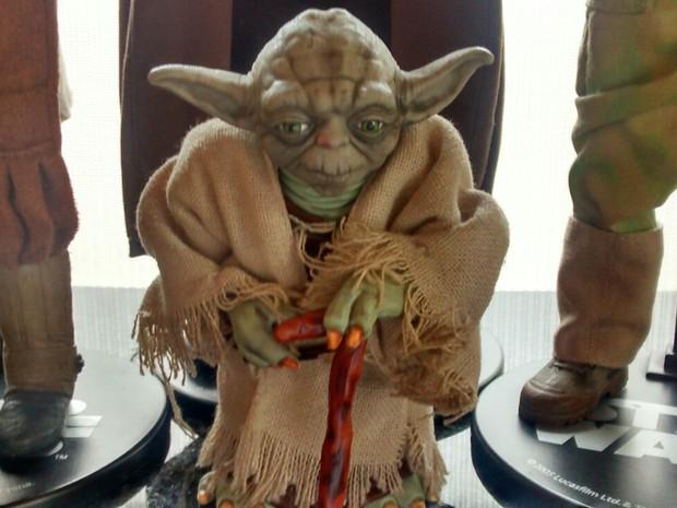 G1 - Fã mantém coleção com mais de mil peças de Star Wars em Suzano ... 167131c63d9