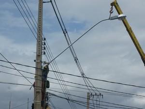 Foram registradas mais de 7 mil novas unidades consumidores em janeiro de 2014 (Foto: Divulgação/Ascom CEA)