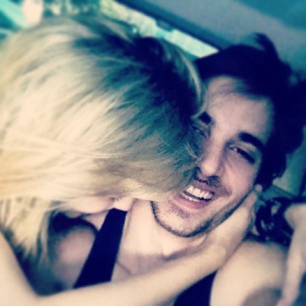 Fiuk postou uma foto com Sophia (Foto: Reprodução)