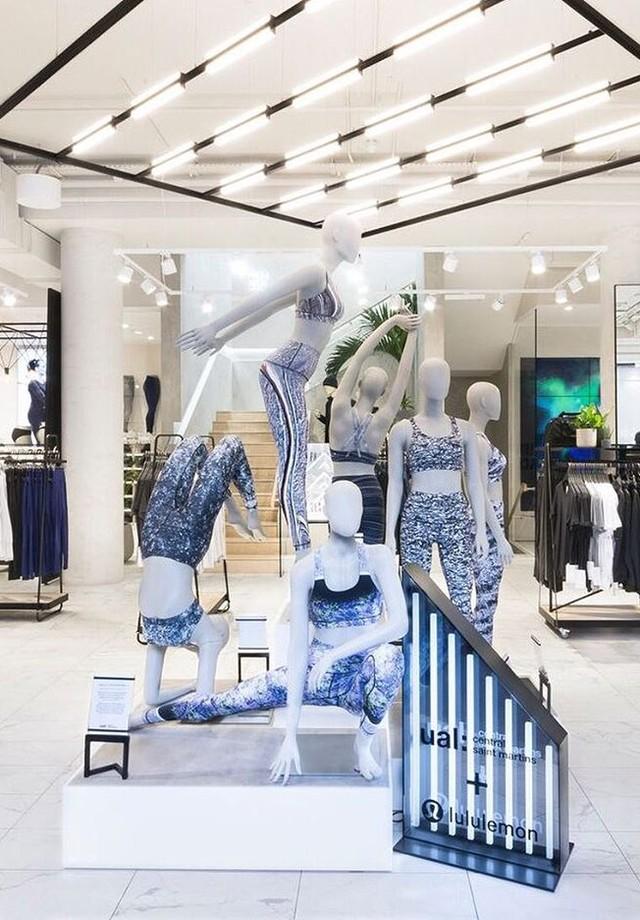Interior de uma loja da Lululemon (Foto: Reprodução)