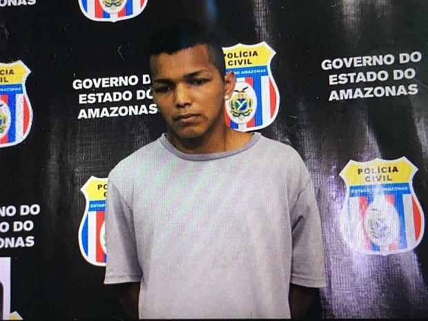 Marlisson foi preso após crime (Foto: Gabriel Machado/G1 AM)