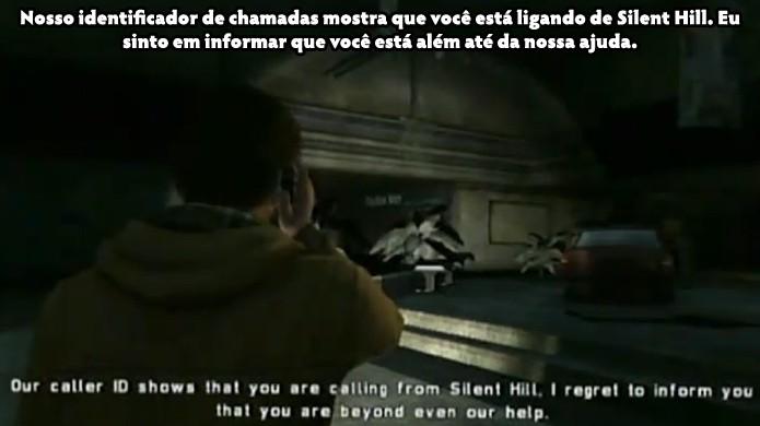 Nem o suporte técnico da Konami poderá ajudar você em Silent Hill (Foto: VGFacts)