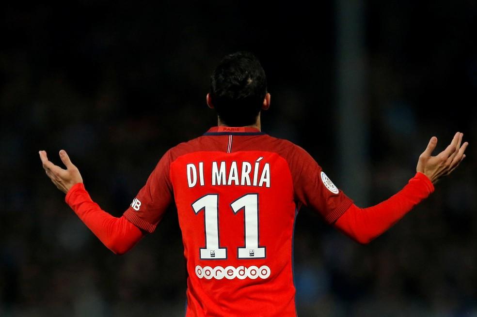 Di María paga multa para evitar prisão (Foto: REUTERS/Stephane Mahe)