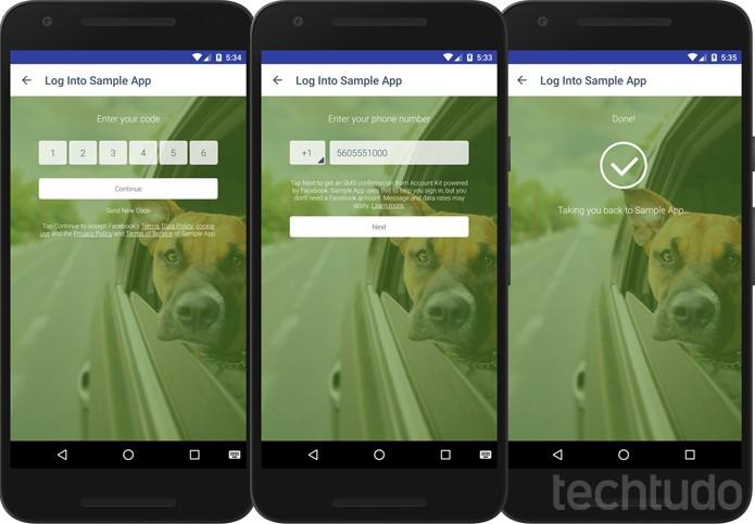 Facebook Account Kit ajuda especialmente aplicativos de delivery com número de celular (Foto: Divulgação/Facebook)