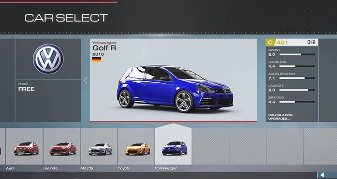 Forza 5 chegou com o Xbox One (Foto: Reprodução)