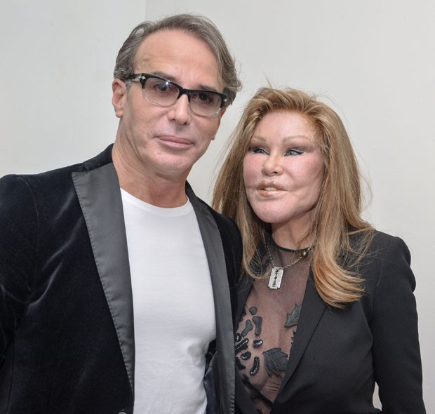 Jocelyn Wildenstein e Lloyd Klein (Foto: Getty Images)