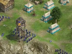 Gameplay de Knights of Honor.
