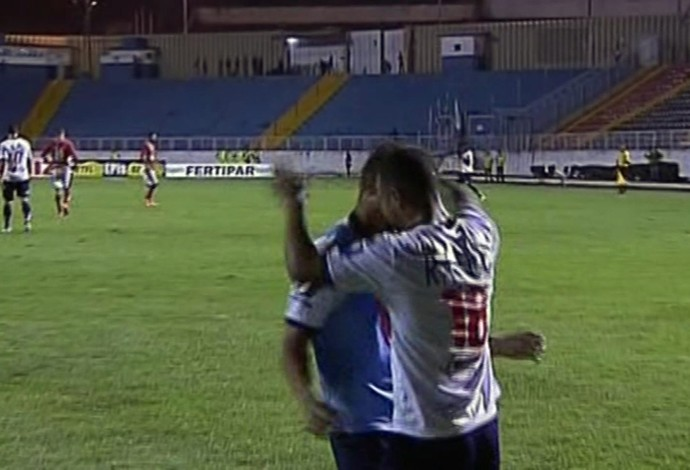 Paraná vence o Boa Esporte em Varginha pela Série B (Foto: Reprodução EPTV)