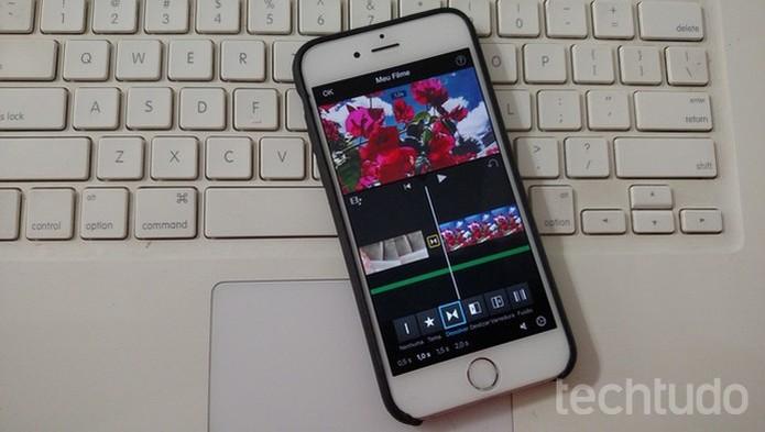 iMovie, editor de vídeos do iPhone, tem muitos recursos de edição (Foto: Lucas Mendes/TechTudo) (Foto: iMovie, editor de vídeos do iPhone, tem muitos recursos de edição (Foto: Lucas Mendes/TechTudo))