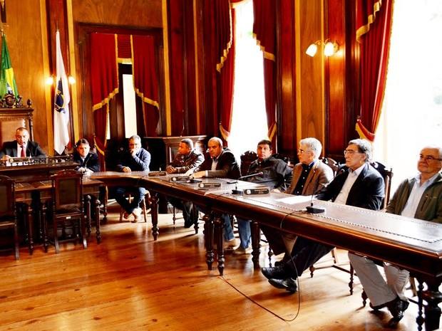 Ato aconteceu na manhã desta sexta (11) na Câmara de Vereadores (Foto: José Paulo/Divulgação)