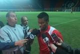 """Michel Bastos espera marcar de novo e brinca com  Papa: """"Pago penitência"""""""