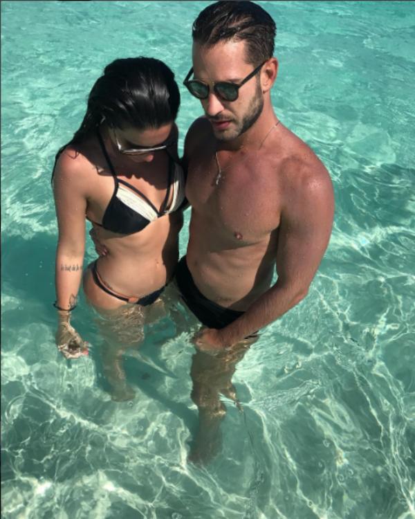 Cleo Pires e Caio Fischer (Foto: Reprodução/Instagram)