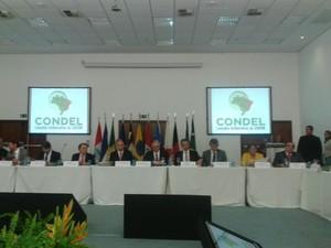 Representantes de sete estados do Nordeste e o de Minas Gerais compareceram ao encontro (Foto: Carolina Sanches/G1)