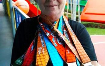 Aos 70 anos, Clarice vence desafio na Disney ao correr 78km em quatro dias