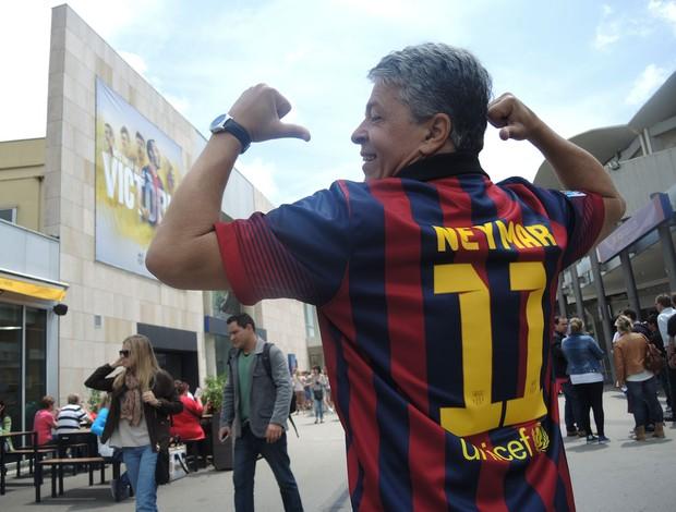 neymar barcelona camisa (Foto: Cassio Barco)