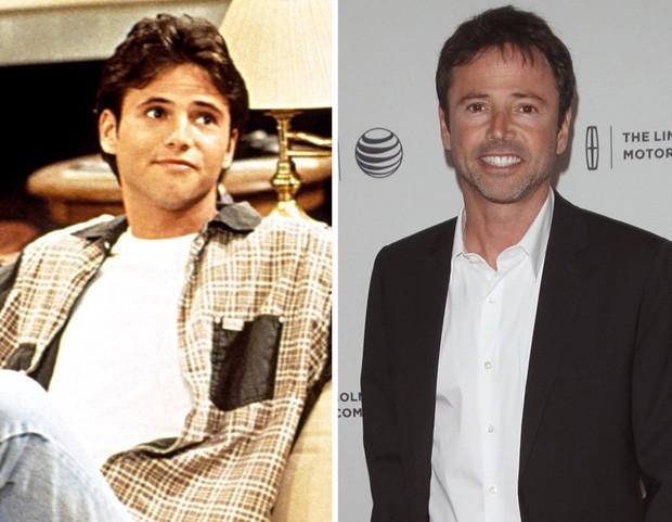 David Lascher interpretou Vinnie, namorado de Blossom, que sofre com o pai superprotetor dela (Foto: Reprodução)