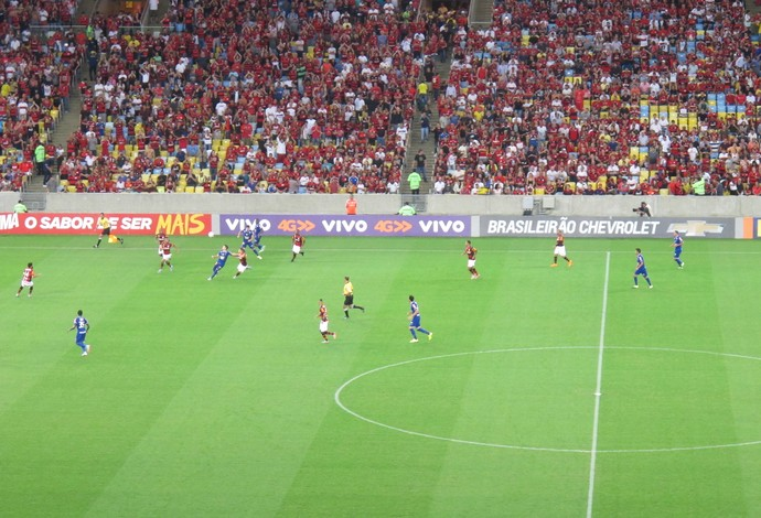Flamengo Cruzeiro maracanã (Foto: Ivan Raupp / GloboEsporte.com)