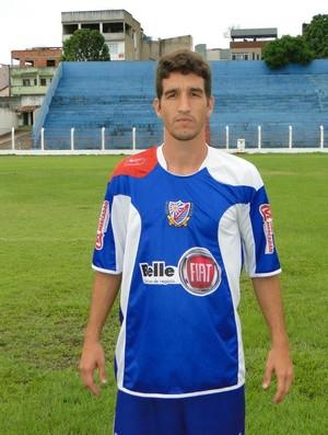 Volante Parley, ex-São Mateus e novo reforço do Colatina (Foto: Toninho Costa/A.A Colatina)