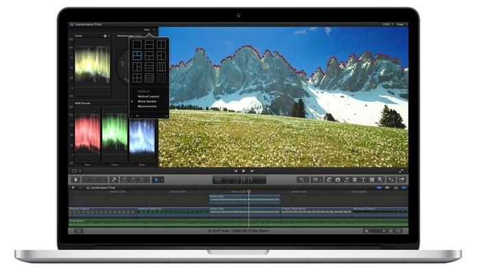 Final Cut é um dos programas que podem ajudar a corrigir tremido após gravação com GoPro (Foto: Divulgação/Apple)
