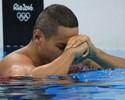 Ao lado de João, Felipe vai à final dos 100m peito e afasta fantasma de 2012