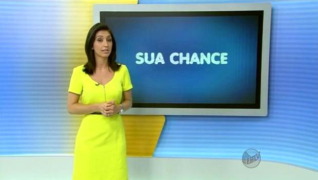 Isabela Leite fala das áreas podem ter aumento de salário em 2014 (Foto: Reprodução EPTV)