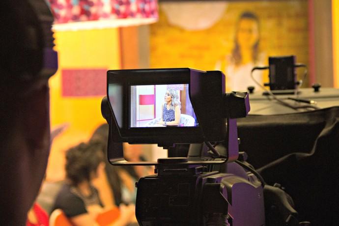 Mistura com Rodaika bastidores (Foto: Maicon Hinrichsen/RBS TV)