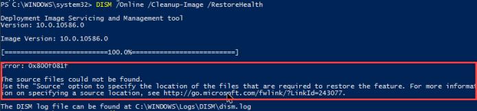 Usando DISM para verificar e corrigir arquivos corrompidos do Windows (Foto: Reprodução/Edivaldo Brito)